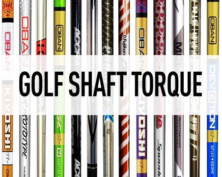Golf Shaft Torque