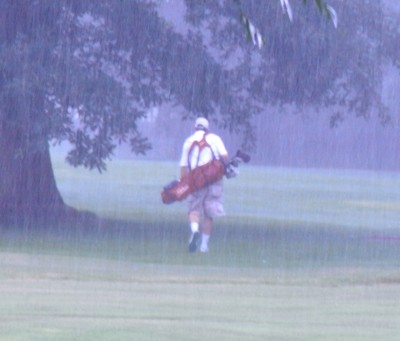 How to Golf in the Rain